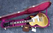 Gibson 57 Les Paul Goldtop VOS body shot in case full