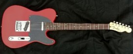 Fender Custom Shop Telecaster Custom Deluxe in Dakota Red