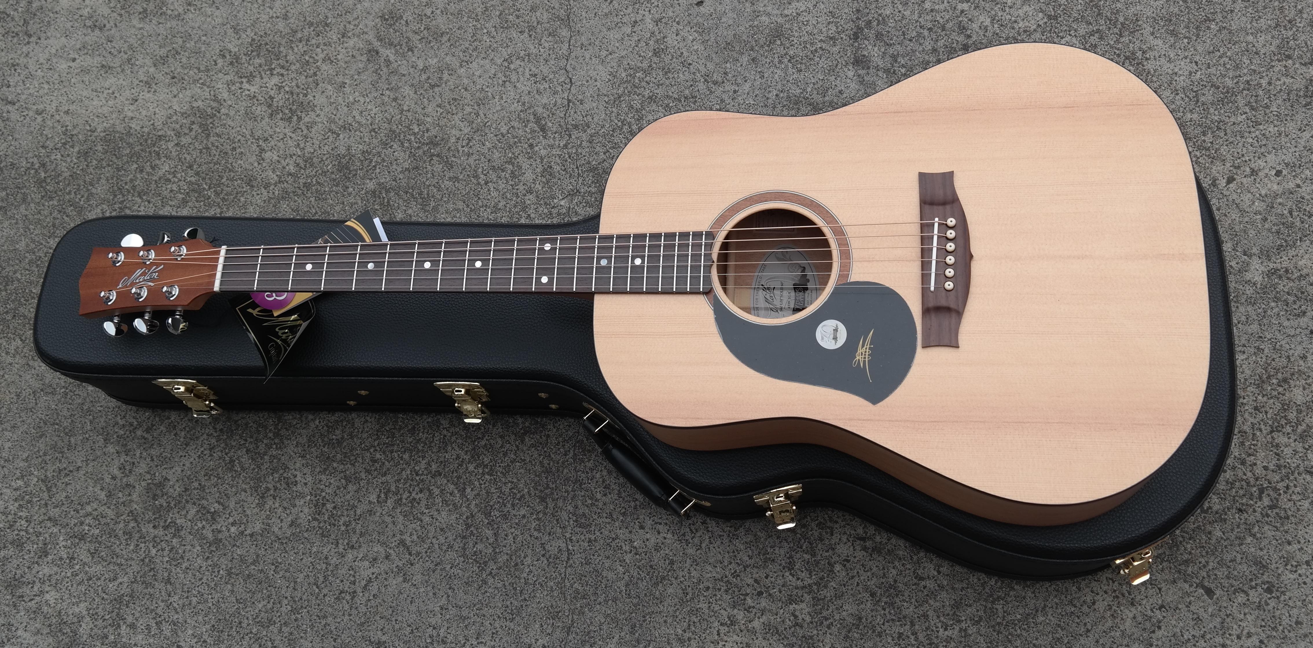 maton s60 acoustic guitar left handed eastgate music. Black Bedroom Furniture Sets. Home Design Ideas