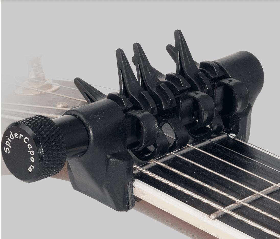 3b273527df Spider Capo Std - The Ultimate Open Tuning Capo - Eastgate Music