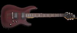 Schecter Omen-6 Electric Guitar (Walnut Satin)