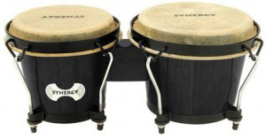 TOCA Synergy Bongos 2100 Transparent Black