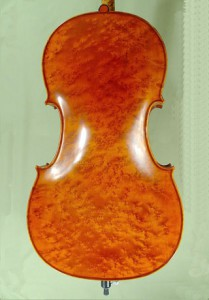 Gliga 1 4/4 Birds Eye Maple One Piece Back Cello