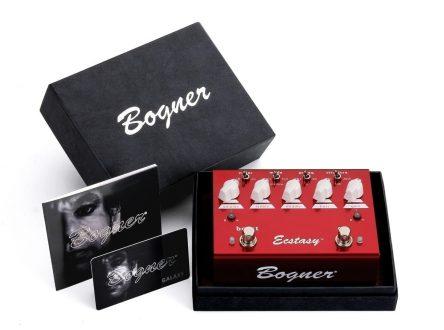 Bogner Ecstasy Pedal Red
