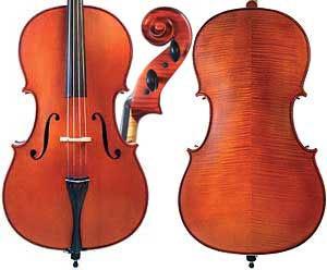 Gliga 3 (Genial 1 oil) 4/4 Cello Outift