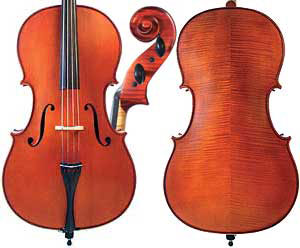Gliga 3 (Genial 1 oil) 3/4 Cello Outfit