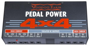Voodoo Lab Pedal Power 4 x 4