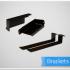 PedalTrain Power Supply Mounting Brackets BRKT – 2