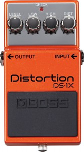 Boss DS1X Distortion Pedal Special Edition