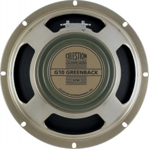 Celestion G10 Greenback Speaker 8ohm