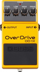 Boss OD1X Overdrive Pedal Special Edition