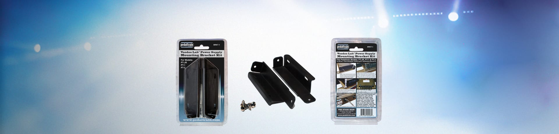 PedalTrain Power Supply Mounting Brackets BRKT – 1
