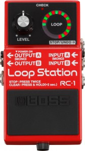 Boss RC 1 Looper Pedal
