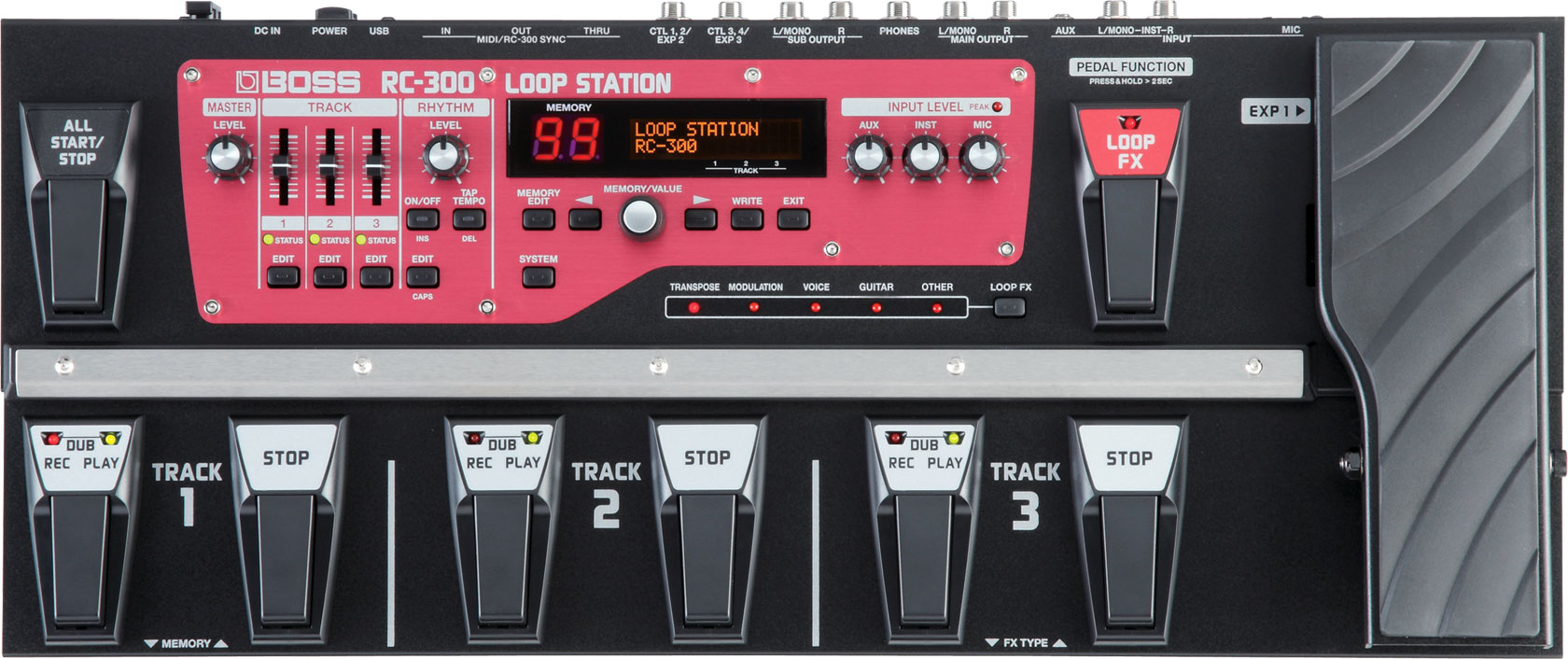 Boss RC-300 Loop Pedal