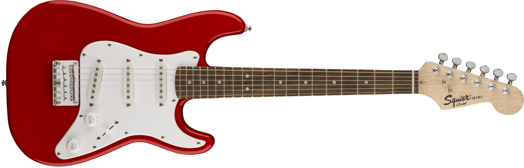 squier mini strat torino red electric guitar eastgate music. Black Bedroom Furniture Sets. Home Design Ideas