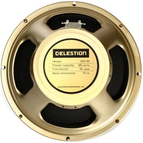 Celestion G12M65 Creamback 12″ 65 Watt 16 Ohm
