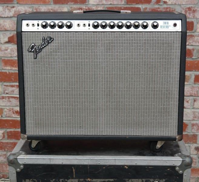 Fender Twin Reverb 1975 Silverface 2 x 12 135 watt