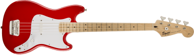 Squier Bronco Bass Maple Fingerboard Torino Red