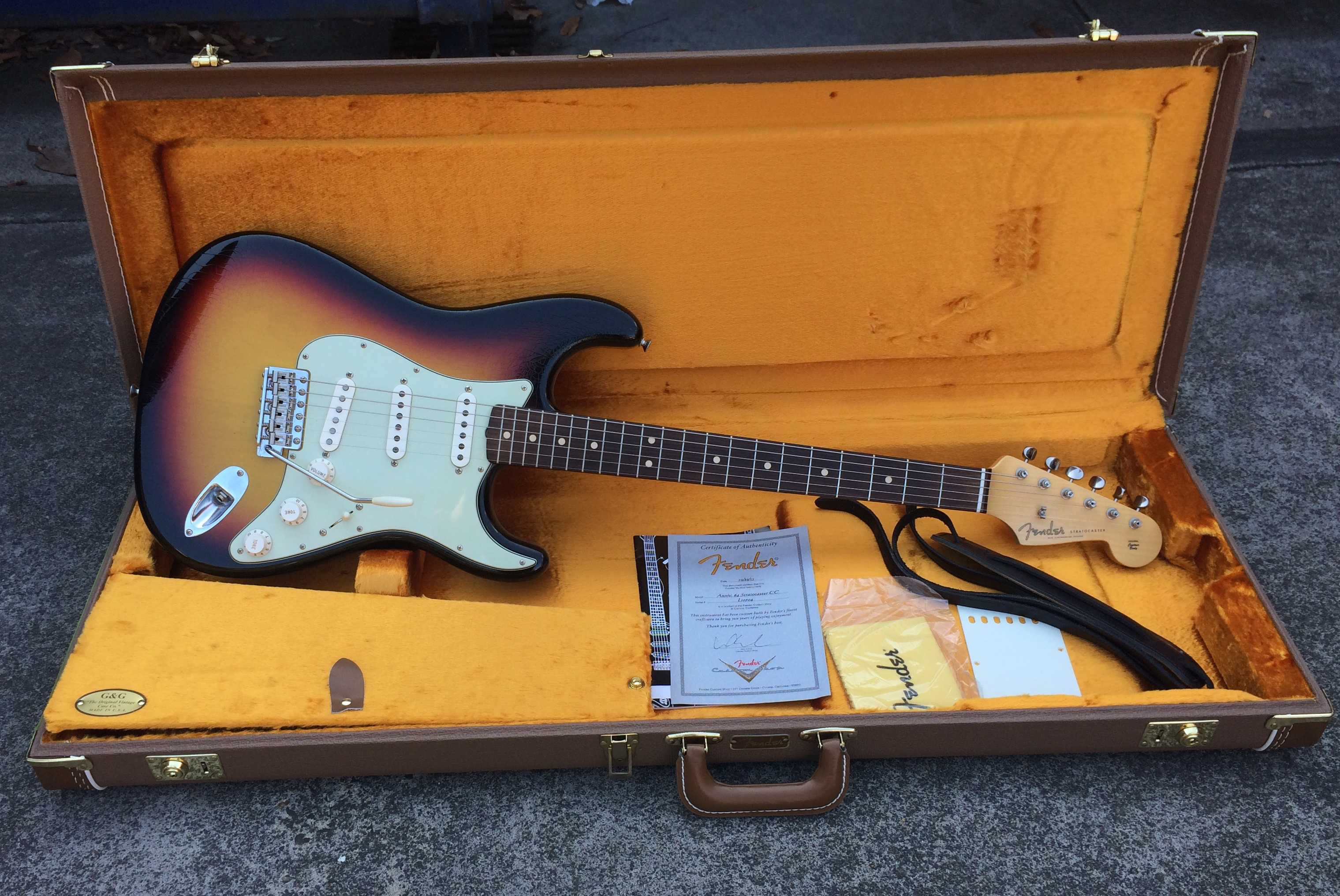 Fender Custom Shop Anniversary 1964 Stratocaster Closet Classic
