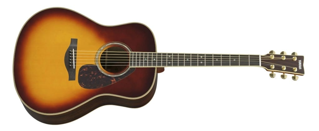 yamaha ll16. yamaha ll16-bs/are folk acoustic electric guitar brown sunburst ll16
