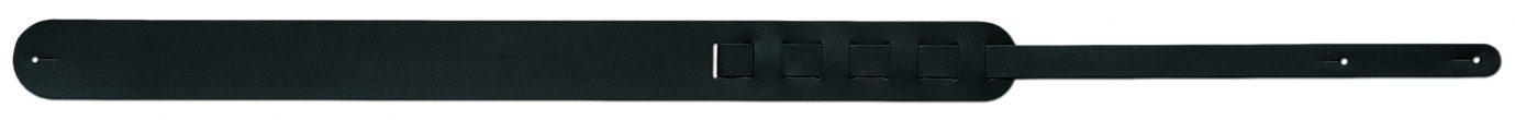 Steph Accessories Split Leather Strap Black