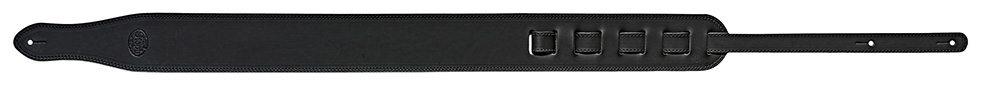 Steph Chopper Leather Strap 7cm - Black