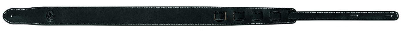 Steph Old Vintage Leather Strap 5cm - Black