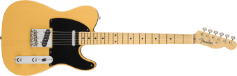 Fender American Original 50's Telecaster Butterscotch Blonde 0110132850_gtr_frt_001_rr