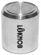 Loknob 3/4 Silver Fugged TCM7 LOK13126