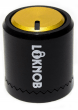 Loknob 3/4 Black and Gold Universal OD