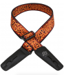 Lock It Strap Bob Masse Rock Art Harvest Twist Guitar Strap