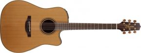 Takamine TP3DC Dreadnought Acoustic-Electric Guitar With Pickup Natural Finish