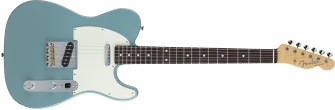 Fender MIJ Hybrid '60s Telecaster Rosewood Fingerboard Ocean Turquoise Metallic