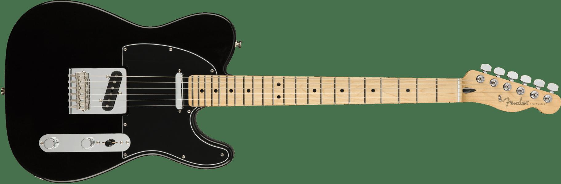 Fender Player Telecaster Black Maple Neck