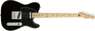 Fender Player Telecaster Black Maple Neck