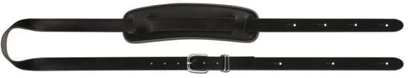 Steph Accessories Basic Series Black Split Leather Strap