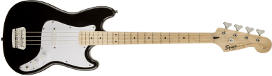 Squier Bronco Bass Maple Fingerboard Black