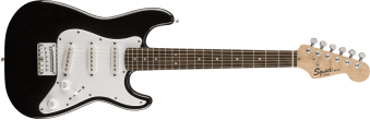 Squier Mini Strat Black Electric Guitar