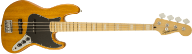 Squier Vintage Modified Jazz Bass '77 Maple Fingerboard Amber