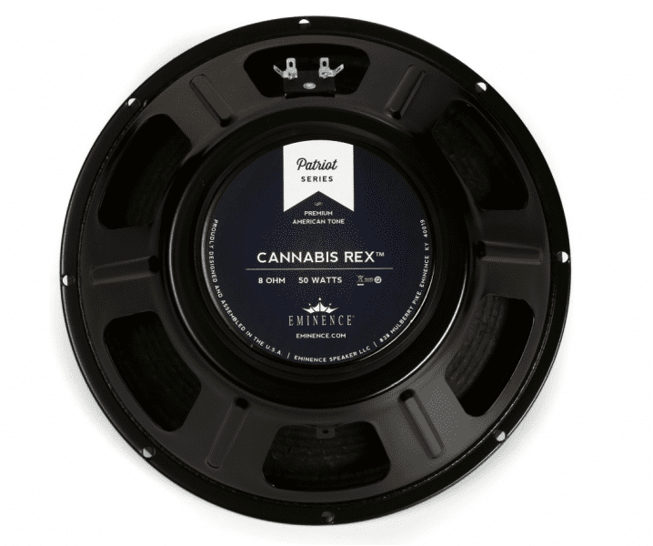 "Eminence Cannabis Rex Patriot Series 12"" 50-Watt Replacement Guitar Speaker 8 Ohm"
