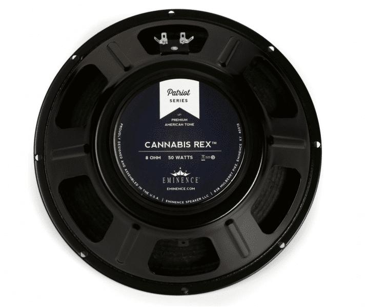 "Eminence Cannabis Rex Patriot Series 12"" 50-Watt Replacement Guitar Speaker 8 Ohm"