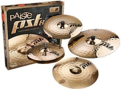 "Paiste PST8 Universal Cymbal Pack Bonus 18"" Crash"