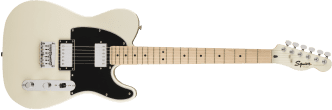 Squier Contemporary Telecaster HH Maple Fingerboard Pearl White 0371222523_gtr_frt_001_rr