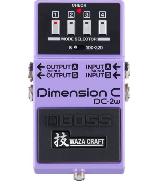 Boss DC-2W Waza Craft Dimension C Chorus Pedal