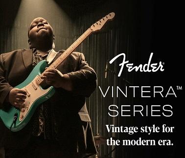 Fender Vintera Banner
