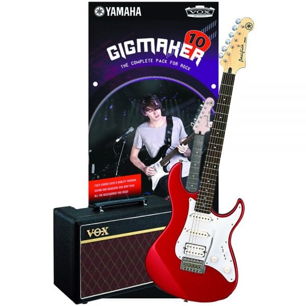 Yamaha Gigmaker 10 Electric Guitar Pack Red Metallic