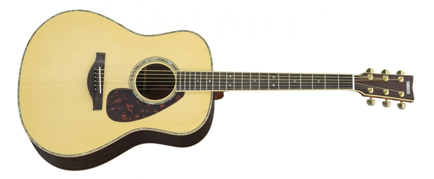 Yamaha LL16D ARE Acoustic Electric Guitar Natural Finish Luxury Abalone Inalys