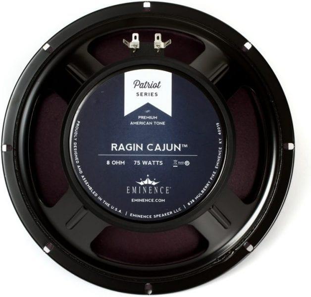 "Eminence Ragin Cajun Patriot Series 10"" 75-Watt Replacement Guitar Speaker 8 Ohm"