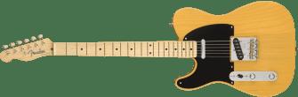 Fender American Original 50's Telecaster Butterscotch Blonde Left Handed 0110133850_gtr_frt_001_rl
