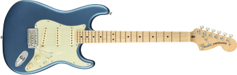 Fender American Performer Stratocaster Maple Fingerboard Satin Lake Placid Blue 0114912302_gtr_frt_001_rr